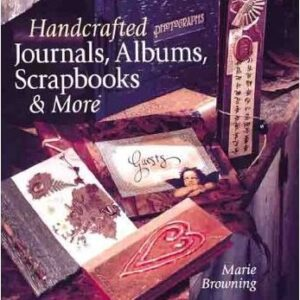Handcrafted Journals, Albums, Scrapbooks & More