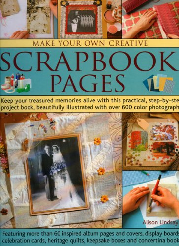 Creative Scrapbook Covers : Make your own creative scrapbook pages