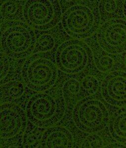 "8 1/2"" x 11"" Green Swirls"