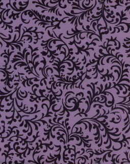 """8 1/2"""" x 11"""" Lavender with Brocade"""