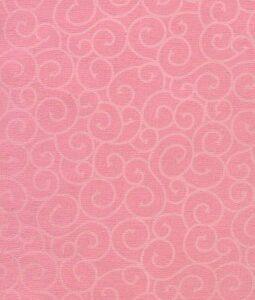 "8 1/2"" x 11"" Pink with White Swirls"