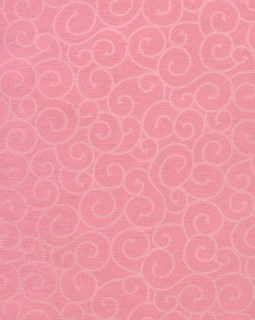 "8 1/2"" x 11"" Pink with White Swirls"