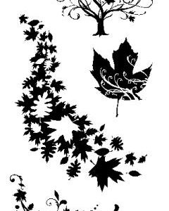 Fall Season Clear Stamps