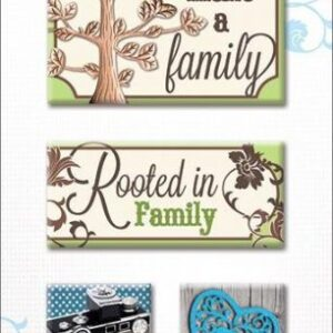 Paper House - Civil War Cardstock Stickers