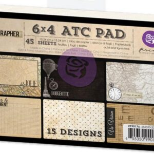 "Cartographer Collection - ATC Cards - 4""X 6"""