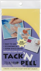 Tack 'n Peel Reusable Cling Sheet