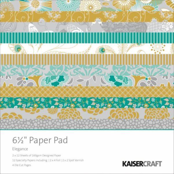 """Elegance - Paper Pad - 6.5"""" x 6.5"""""""