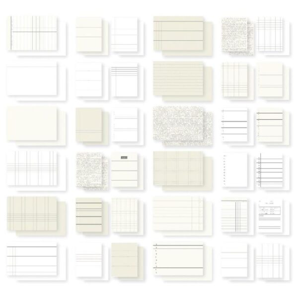 """DIY Foundations - Double-Sided Cards 3""""x 4"""" & 4""""x 6""""- Office"""