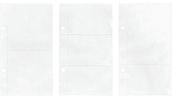 """Idea-Ology 2-Hole Page Pockets - Assorted 4""""X7"""""""