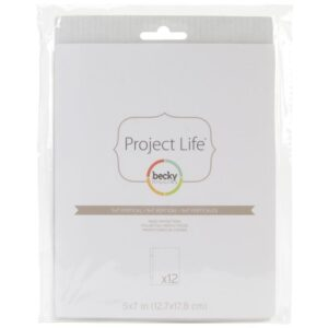 "Project Life - Photo Pocket Pages - Vertical 5""X7"""