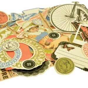 Miss Match - Collectables Cardstock Die-Cuts