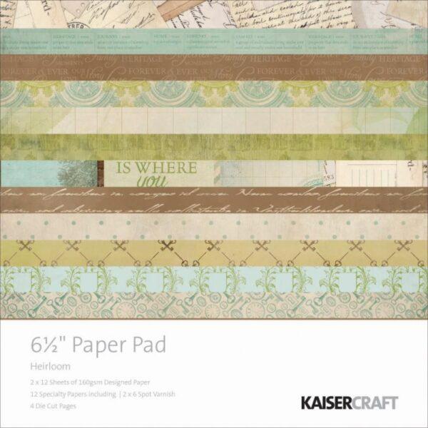 "Heirloom - Paper Pad - 6.5"" x 6.5"""
