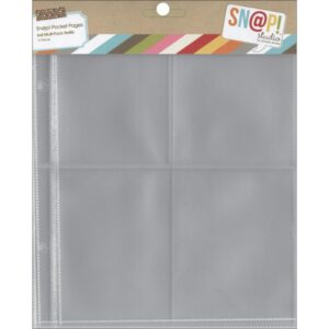 "Sn@p! Pocket Pages For 6""X8"" Binders - Variety Pack"