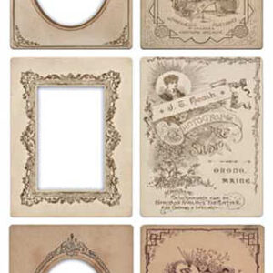 Idea-Ology - Mini Cabinet Card Frames