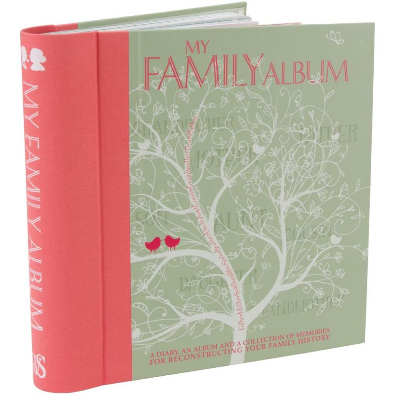 How to scrapbook a family tree - My Family Album