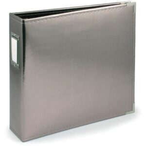 "We R Classic Leather Ring Binder - 8.5""x 11"""