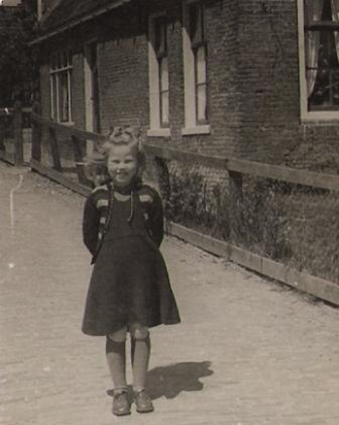 one of my mother's sisters, dressed all in wool