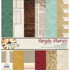 "Legacy - Simple Basics Kit - 12"" x 12"""
