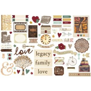 Legacy - Bits & Pieces Die-Cuts