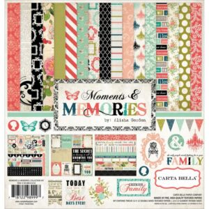 "Moments & Memories - Kit 12"" x 12"""