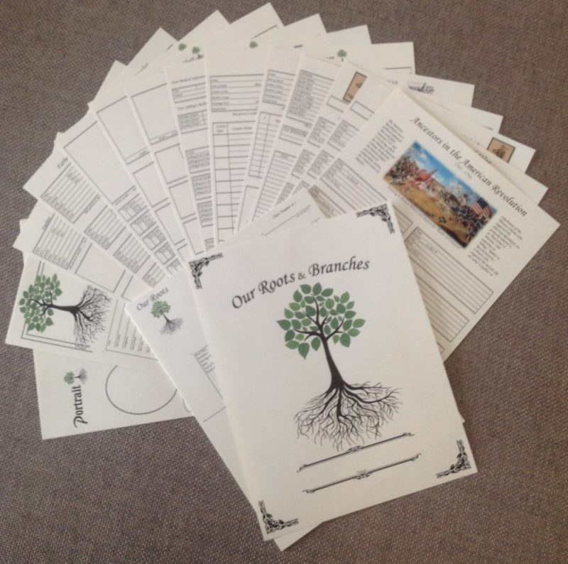 Genealogy Chart Collection A – 8.5″ X 11″