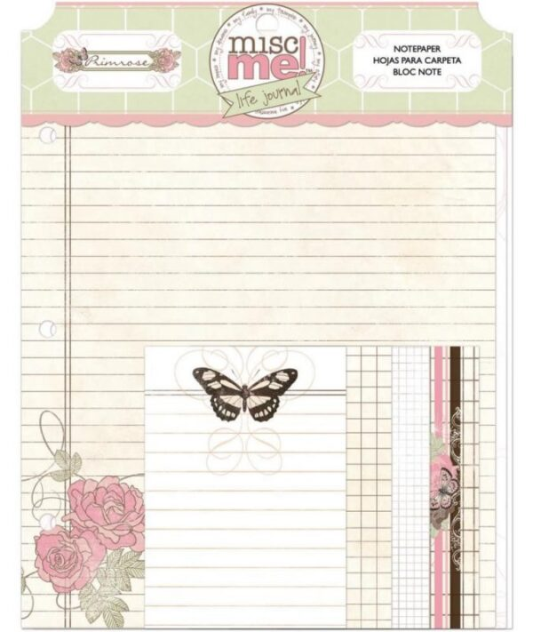 Misc Me - Primrose - Note Papers