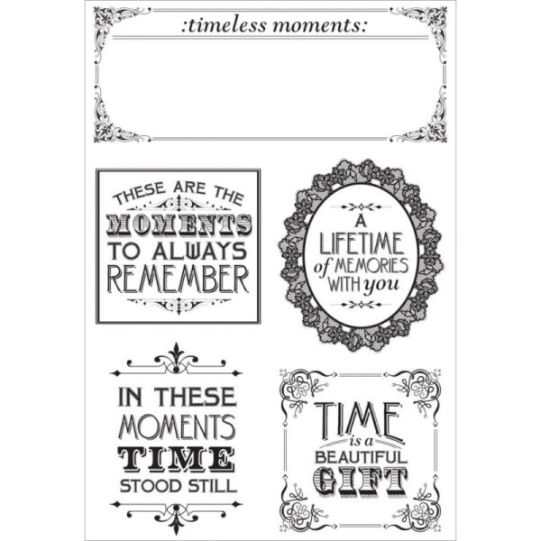 """Betsy's Couture - Clear Stamps 6.25""""x 4"""""""
