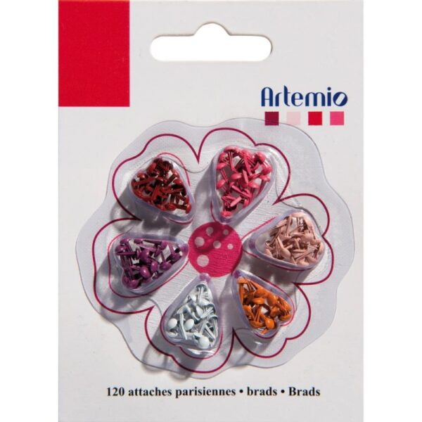 Artemio - Reds - Mini Brads