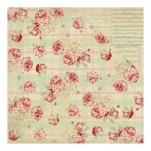 Origin Rose Plaid / Cream Sheet Music