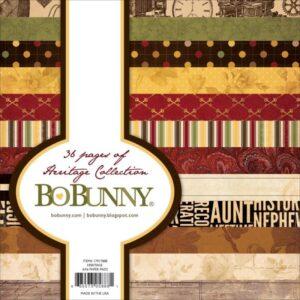 """Bo-Bunny Paper Pad 6""""X6"""" 36/Pkg"""