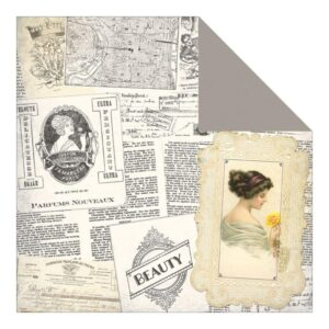 Beauty - Newspaper Collage/Beauty Frames