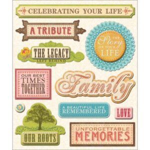 Life's Little Occasions - Sticker Medley - Life Memories