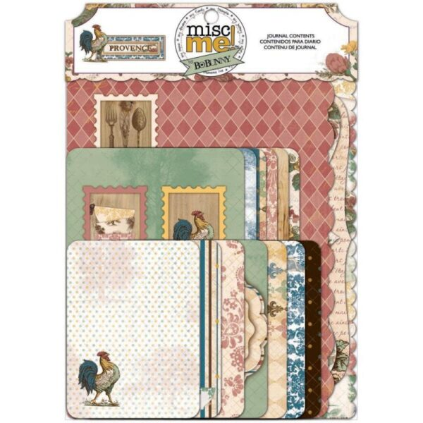 Misc Me - Provence - Journal Pack