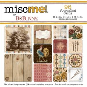 Misc Me - Provence - Pocket Squares Journaling Cards