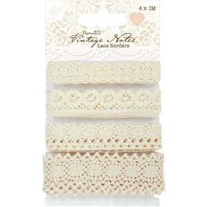 Papermania - Vintage Notes Collection: Lace Borders