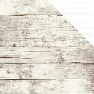 Sn@p! Basics Color Vibe - Aspen/White Notebook