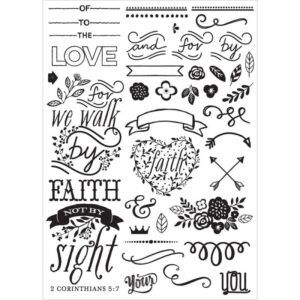 Love - Faith - Scrap - Elements