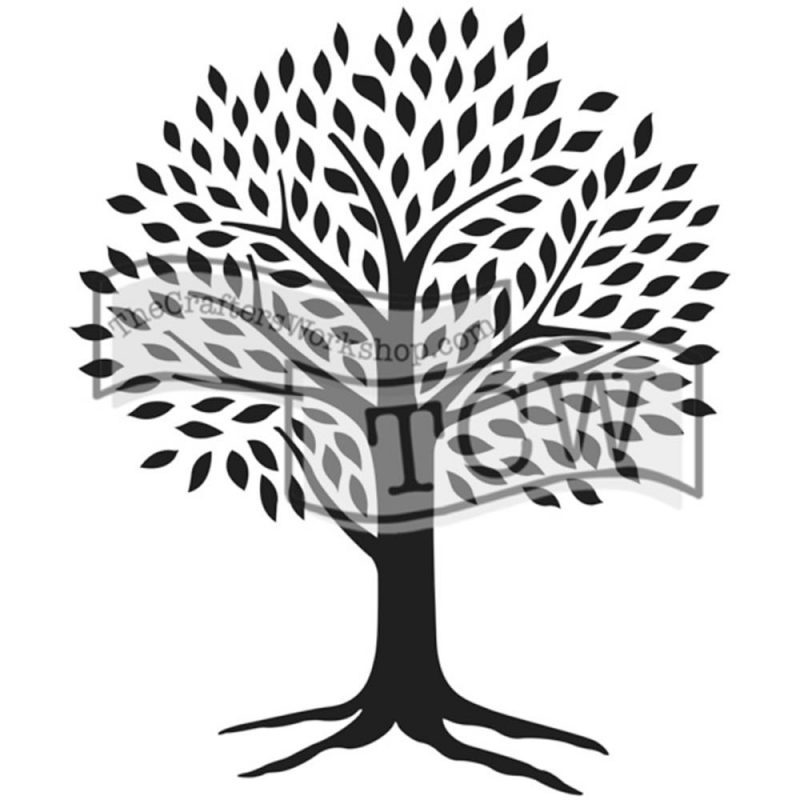 The Crafter's Workshop – Tree of Life Stencil | Scrapbook Your ...