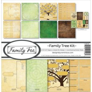 Reminisce Family Tree Collection Kit