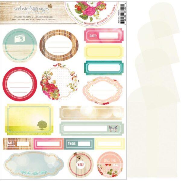 Strawberry Fields - Memory Pockets & Labels