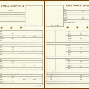 Family - Family Group Chart 4