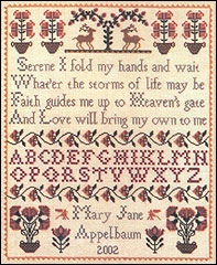 Heaven's Gate Sampler - Cross Stitch Pattern