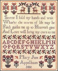 Heaven's Gate Sampler - Cross Stitch Pattern