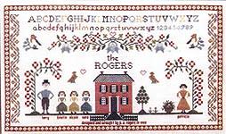 Family Sampler - Cross Stitch Pattern