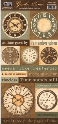 Gentler Times Collection - Time - Accessory Sheet