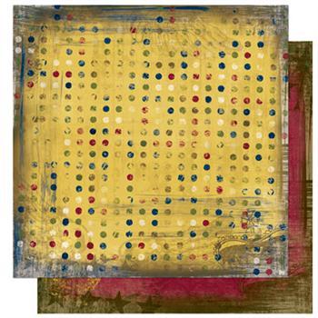 """Cambridge Collection - Dot 12"""" X 12"""""""