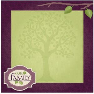 Darice - Family - Easy Peasy Page Layout With 3-D Design