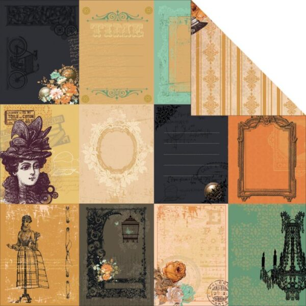 "Miss Empire - Provincial - 12""X12"" Double-Sided Cardstock"