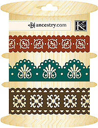 AC Adhesive Paper Ribbon - ancestry.com