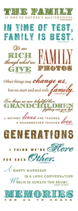 Ancestrycom Words Quotes Rub On Transfers Scrapbook Your